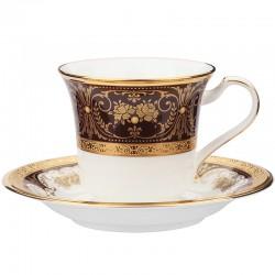 Чашка чайная с блюдцем 220мл фото — интернет-магазин посуды Posud:Meister