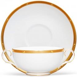 Чашка супова з блюдцем 275мл фото - інтернет-магазин посуду Posud:Meister