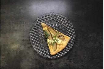 Рецепт. Пицца с грушей и сыром горгонзола