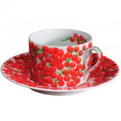 Чашка чайна з блюдцем 160мл фото — інтернет-магазин посуду Posud:Meister