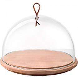 Набор доска 25см + крышка-купол 25см фото — интернет-магазин посуды Posud:Meister