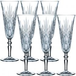 Набор бокалов для шампанского 140мл (6шт.) фото — интернет-магазин посуды Posud:Meister