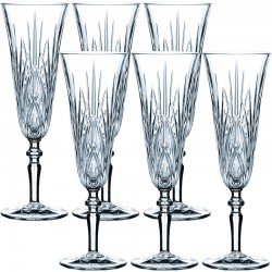 Набір келихів для шампанського 140мл (6шт.) фото - інтернет-магазин посуду Posud:Meister