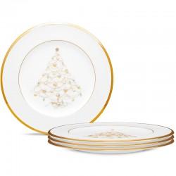 Набір тарілок акцентних 21,5см (4шт.) фото - інтернет-магазин посуду Posud:Meister