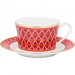 Чашка чайна з блюдцем 250мл фото - інтернет-магазин посуду Posud:Meister