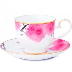 Чашка чайная с блюдцем 250мл фото — интернет-магазин посуды Posud:Meister